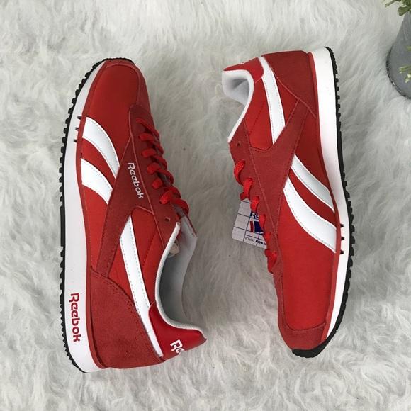 8a17545d0 Reebok Shoes | Red Sneakers Royal Alperez Dash | Poshmark